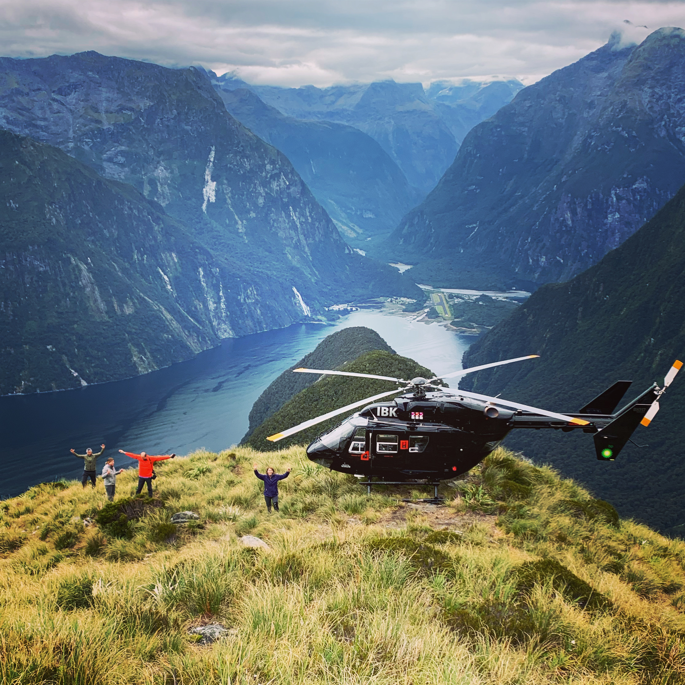 Southern Lakes Helicopters Mitre Peak